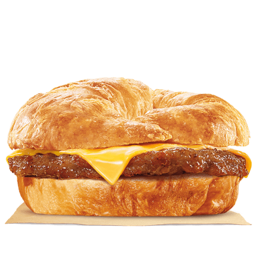 Sausage & Cheese CROISSAN'WICH