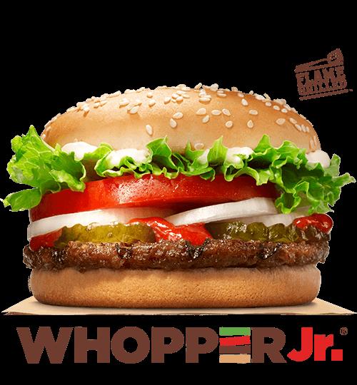 WHOPPER JR. Sandwich