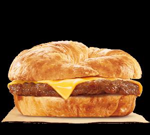 Sausage & Cheese CROISSAN'WICH