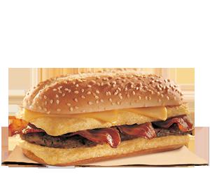 Enormous Omelette Sandwich