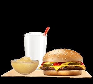 Cheeseburger King Jr Meal