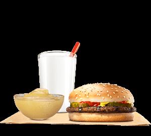 Hamburger King Jr Meal
