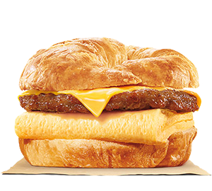 Sausage, Egg & Cheese CROISSAN'WICH