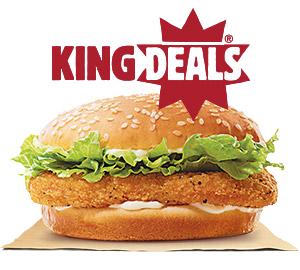 KING DEALS VALUE MENU
