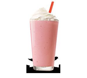 Hand Spun Strawberry Shake