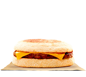 Sausage & Cheese English Muffin