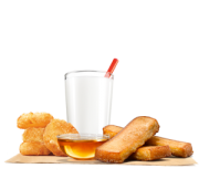 Breakfast King Jr Meal 3pc French Toast Sticks